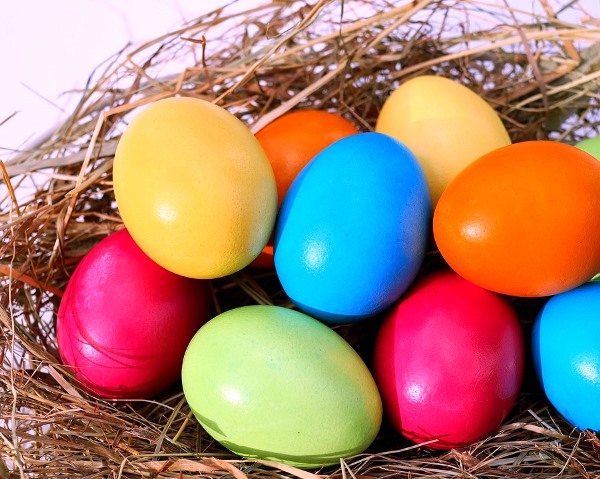 Easter Easter Eggs Egg Colorful Eggs